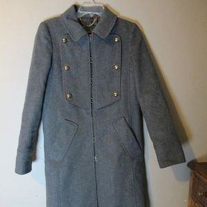 Marc Jacobs Long Military Jacket wool S